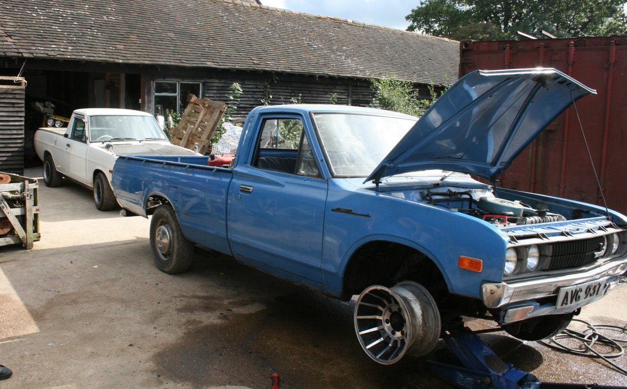1974 Datsun Pick Up for Sale http://www.carcabin.com/1974-datsun-620-pickup/datman.co.uk*rr*620-vec4.jpg/