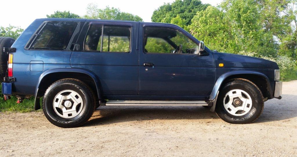 91 Nissan D21 4x4 wagon (Japanese model) £650 Sussex   Retro